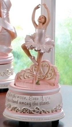 Ballerina Musical Box by Joseph Studios in Sisters
