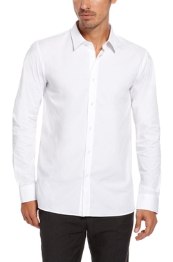 Elisha Slim Fit Dress Shirt by Hugo in New Girl