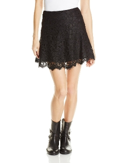 Women's Kingsling High Waisted All Lace Skirt by Bb Dakota in That Awkward Moment