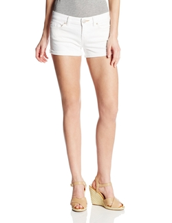 Women's Angie Roll Cuff Denim Short by Dittos in Neighbors