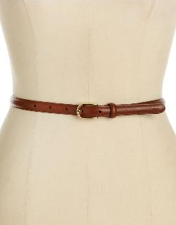 Classic Leather Belt by LAUREN RALPH LAUREN in Blended