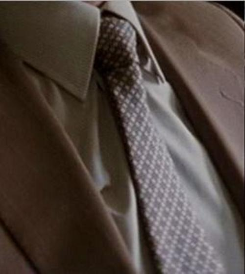 Custom Made Diamond Tie by Jeffrey Kurland (Costume Designer) in Inception