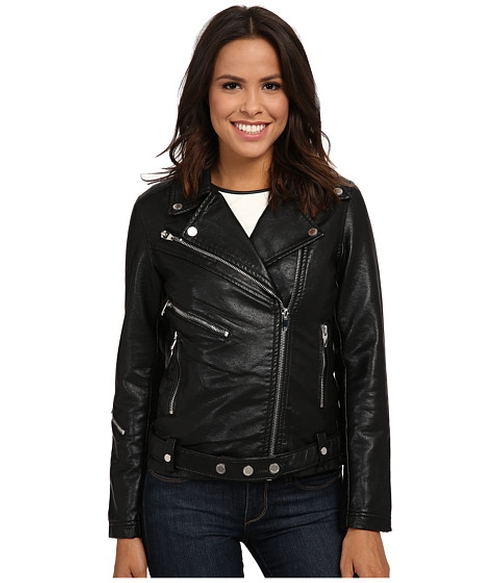 Motorcycle Jacket by Blank NYC in The Bachelorette - Season 12 Episode 6