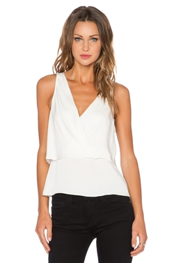 Alizay Tank Top by Theory in The Flash