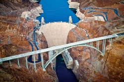Clark County, Nevada by Hoover Dam in San Andreas