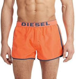 Revy Reversible Swim Trunks by Diesel in Neighbors 2: Sorority Rising