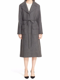 Wool Blend Coat by Nina Ricci in Scandal