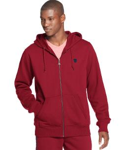 Solid Full Zip Hoodie by LRG in Limitless