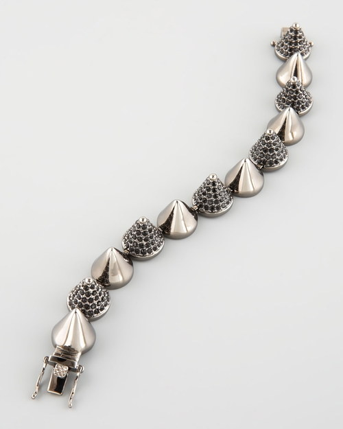 Alternating Cone Bracelet by Eddie Borgo in Pretty Little Liars - Season 7 Preview