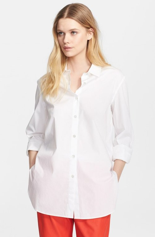 Poplin Shirt by T by Alexander Wang in That Awkward Moment