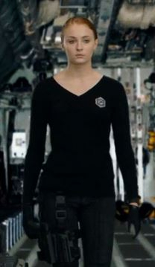 Custom Made Prescott Sweater Uniform (Heather) by Francine Jamison-Tanchuck (Costume Designer) in Barely Lethal