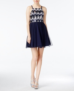 Sequined Tulle A-Line Dress by As U Wish in The DUFF