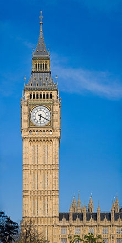 London, United Kingdom by Big Ben in Paddington