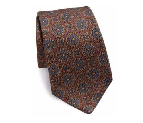 Printed Silk Tie by Kiton in The Blacklist - Season 4 Episode 4