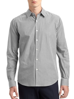 Sylvain Amicable Sportshirt by Theory in Ballers