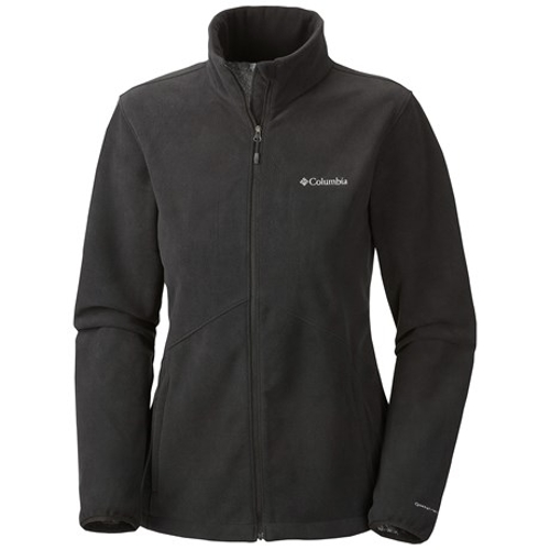 Wind Protector Fleece Omni-Heat Jacket by Columbia Sportswear in Barely Lethal