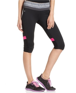 Ruched Knee Cropped Leggings by Ideology in Pitch Perfect 2