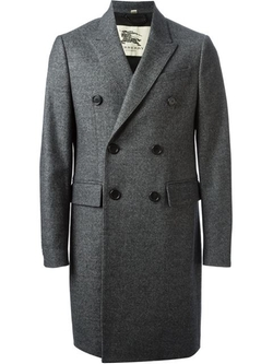 Double Breasted Coat by Burberry in Bridge of Spies
