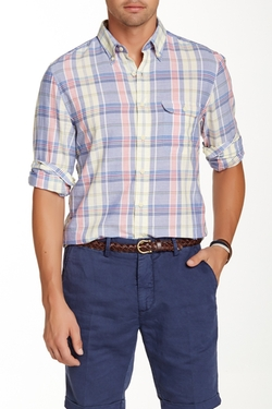 L. Wilshire Madras Check Shirt by Gant in My All American