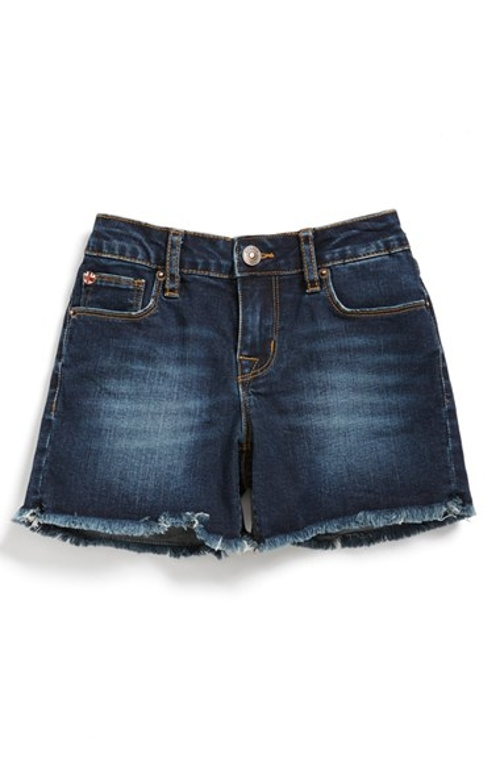 Cutoff Denim Shorts by Hudson Kids in No Escape