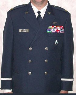 Usaf Officer Service Dress Blue Coat by The Salute Uniforms in New Year's Eve