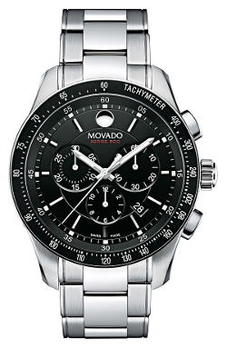 'Series 800' Chronograph Bracelet Watch by Movado in The Gift