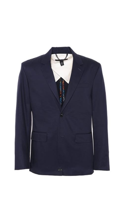 Harvey Twill 2 Button Blazer by Marc by Marc Jacobs in Yves Saint Laurent