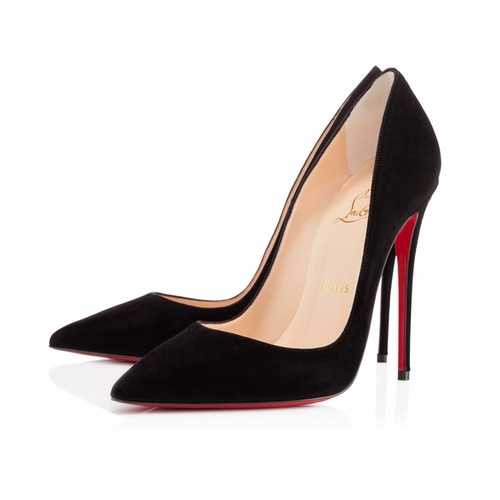 So Kate Suede Pumps by Christian Louboutin in Pretty Little Liars - Season 7 Episode 2