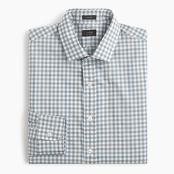 Gingham Ludlow Shirt by J. Crew in Supergirl