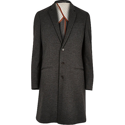 Long Smart Overcoat by River Island in Victor Frankenstein
