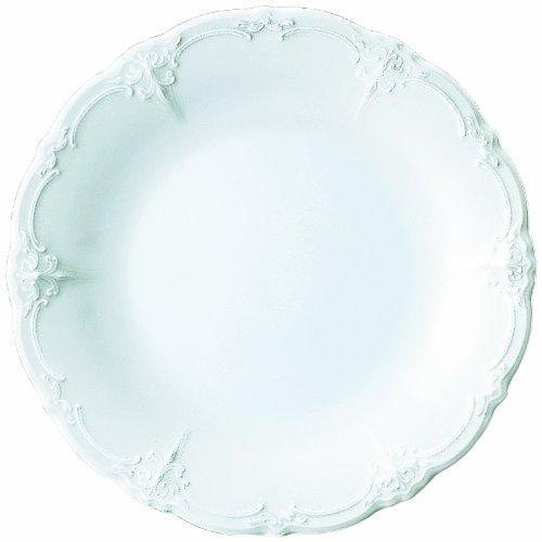 Baronesse White Dinner Plate by Rosenthal in The Hundred-Foot Journey