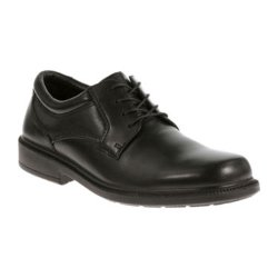 Strategy Mens Oxford Shoes by Hush Puppies in Twilight
