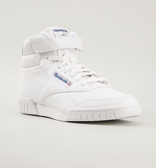 'Ex-O-Fit' Hi-Top Sneakers by Reebok in Popstar: Never Stop Never Stopping