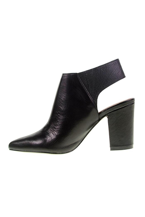 Try Me Black Ankle Booties by Chinese Laundry in Sisters