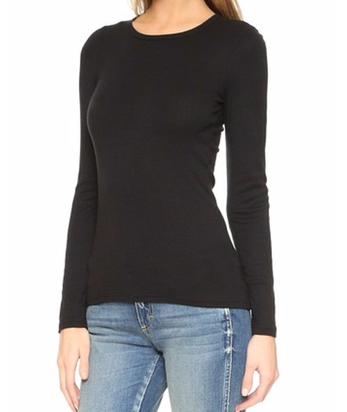 1x1 Crew Neck Tee by Splendid in Keeping Up With The Kardashians - Season 12 Episode 6