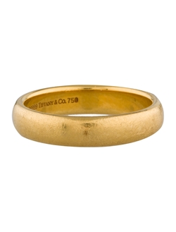 Lucida Wedding Band by Tiffany & Co. in A Walk in the Woods