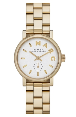 Baker Round Bracelet Watch by Marc By Marc Jacobs in We Are Your Friends