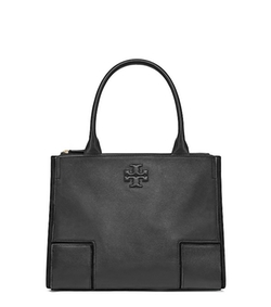 Ella Mini Canvas & Leather Tote Bag by Tory Burch in Elementary