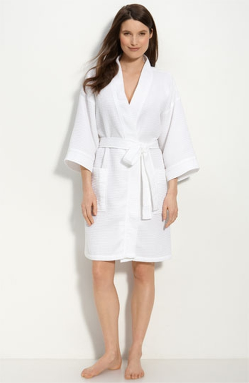 Waffle Cotton Robe by Nordstrom in Grease
