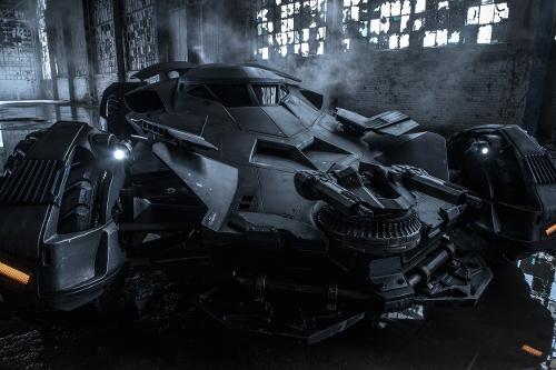 Custom Made Batmobile by Ed Natividad (Conceptual Vehicle Designer) in Batman v Superman: Dawn of Justice