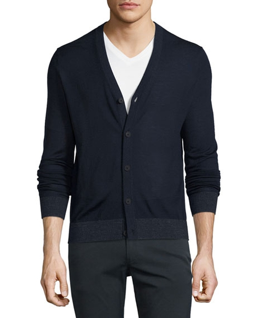 Rothley Merino Wool Cardigan by Theory in Ballers - Season 2 Episode 4