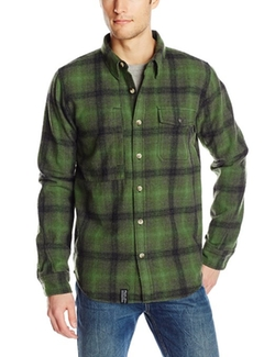 Men's Buckshot Long-Sleeve Flannel Shirt by LRG in If I Stay