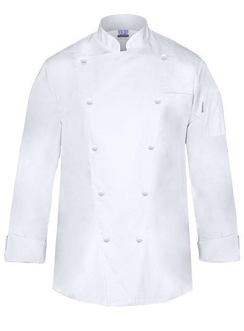 Marquis Chef Coat Men's White Chef Jacket by Newchef Fashion in The Hundred-Foot Journey