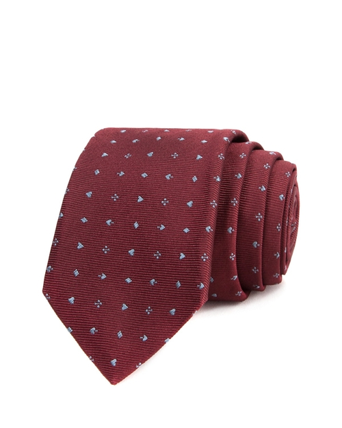 Playing Card Suits Skinny Tie by John Varvatos Star USA in New Girl - Season 5 Episode 1