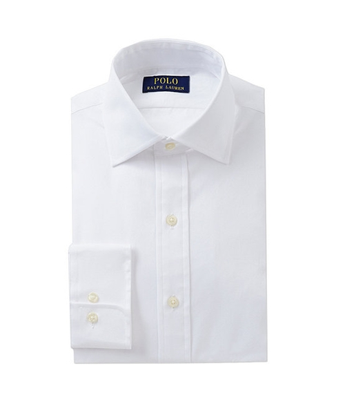 Poplin Regent Dress Shirt by Polo Ralph Lauren in The Big Lebowski