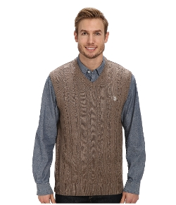Cable Front Vest by U.S. Polo Assn. in Silver Linings Playbook