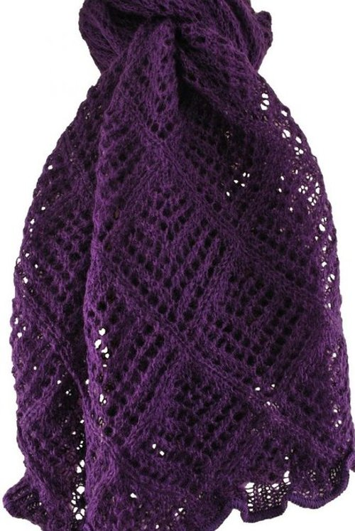 Crochet Knit Scarf by Unique in The American