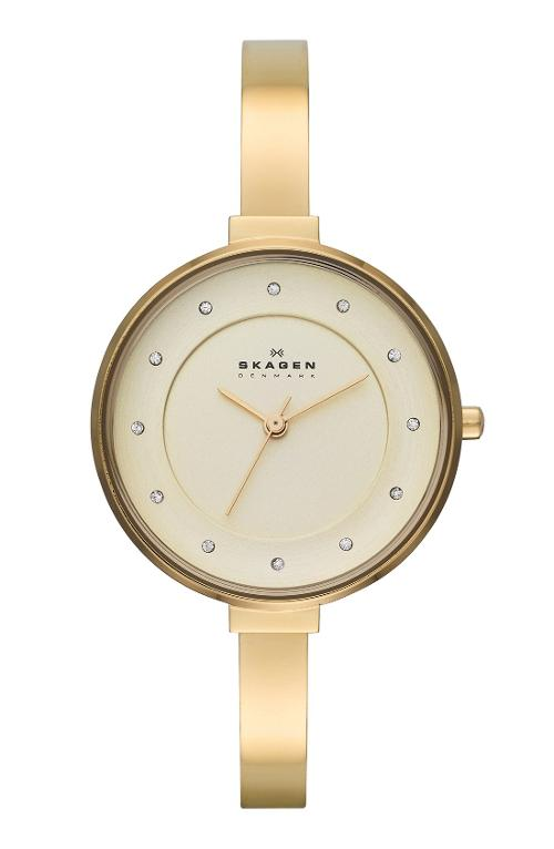 Gitte Crystal Index Bangle Bracelet Watch by Skagen in Dolphin Tale 2