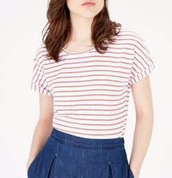 Breton Stripe Top by Warehouse Definitives in Me Before You