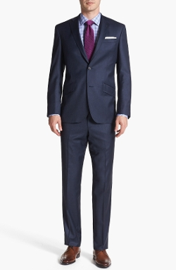 'Jones' Trim Fit Suit by Ted Baker London in Self/Less